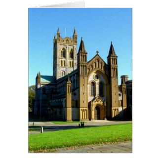 Buckfast Abbey Church Greeting Card