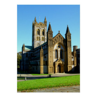 Buckfast Abbey Church Poster