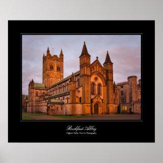 Buckfast Abbey gallery-style poster print