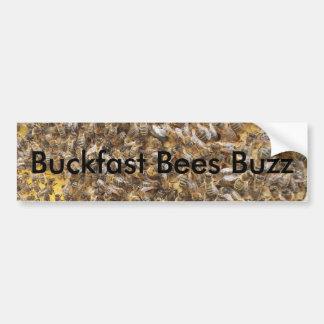Buckfast Bees Buzz Bumper Sticker
