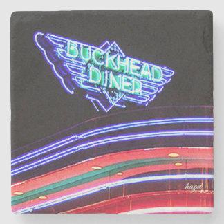 Buckhead Diner, Atlanta, Landmark Marble Coaster Stone Coaster
