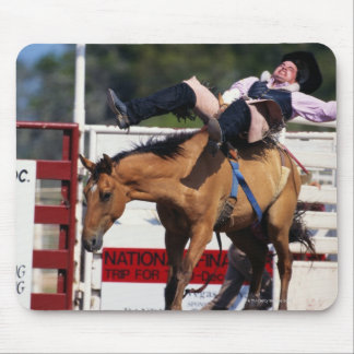 BUCKING BRONCO AT RODEO 3 MOUSE PAD