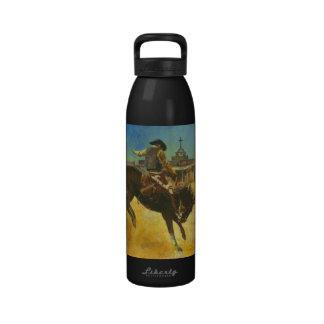 Bucking Bronco Liberty Bottle Reusable Water Bottles