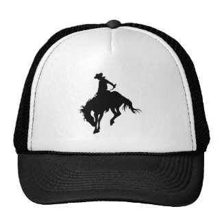 Bucking Bronco; Rodeo; Cool Trucker Hats