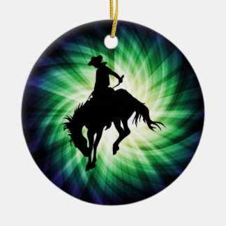 Bucking Bronco; Rodeo; Cool Christmas Ornament