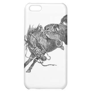 Bucking Horse Case For iPhone 5C