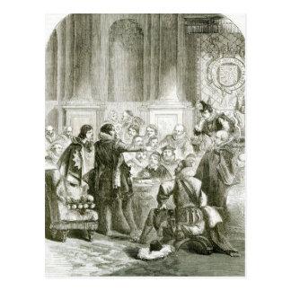 Buckingham before the Council Postcard
