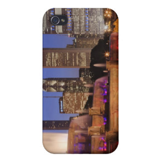 Buckingham Fountain at Dusk iPhone 4 Case