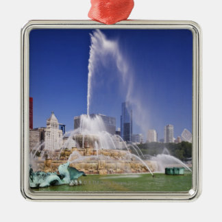 Buckingham Fountain Christmas Ornament