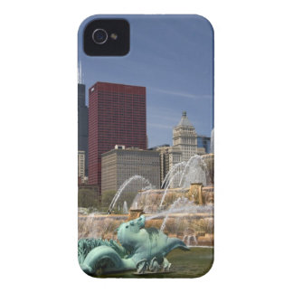 Buckingham Fountain located in Grant Park, iPhone 4 Covers