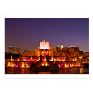 Buckingham Fountain Postcard