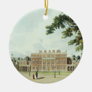 Buckingham House, from 'The History of the Royal R Christmas Ornament