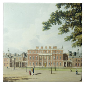 Buckingham House, from 'The History of the Royal R Tile