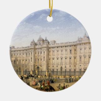 Buckingham Palace, c.1862 (colour litho) Christmas Ornaments