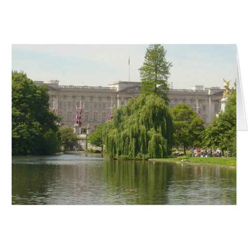 Buckingham Palace Greeting Cards