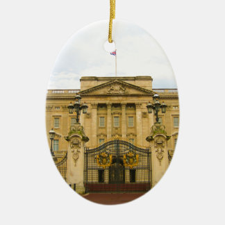 Buckingham Palace Ceramic Oval Decoration