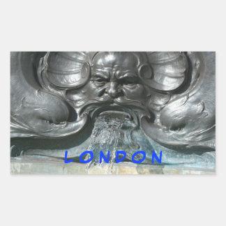 Buckingham Palace fountain sticker