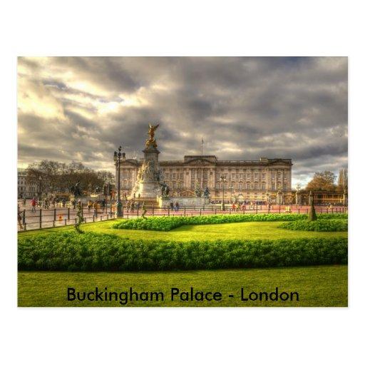 Buckingham Palace - Lo... Postcard
