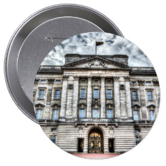 Buckingham Palace London 10 Cm Round Badge