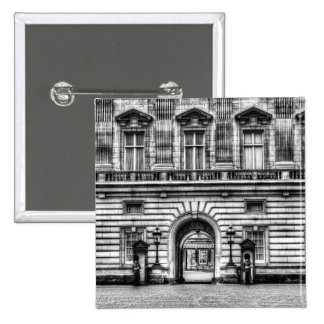 Buckingham Palace London 15 Cm Square Badge
