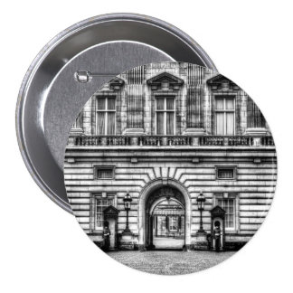 Buckingham Palace London 7.5 Cm Round Badge