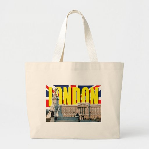 Buckingham Palace-London Tote Bags