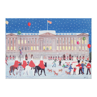 Buckingham Palace London Canvas Print