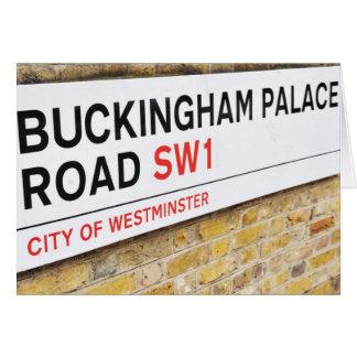 Buckingham Palace, London - Card