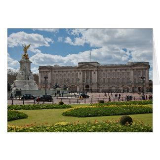 Buckingham Palace London England Card
