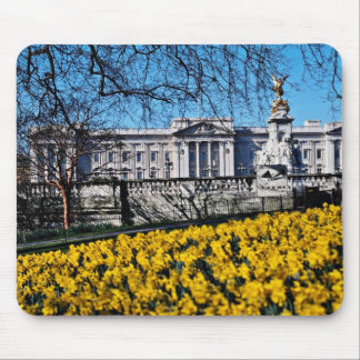 Buckingham Palace London flowers Mouse Pads