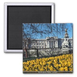 Buckingham Palace, London Square Magnet