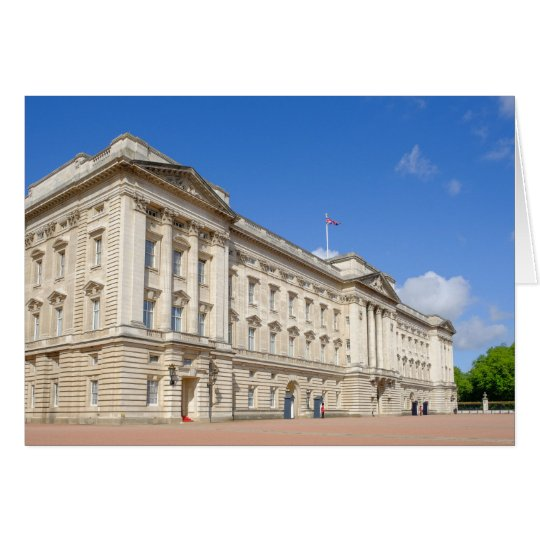 Buckingham Palace, London UK Greeting Card