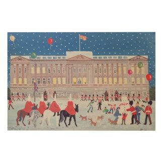 Buckingham Palace London Wood Wall Art