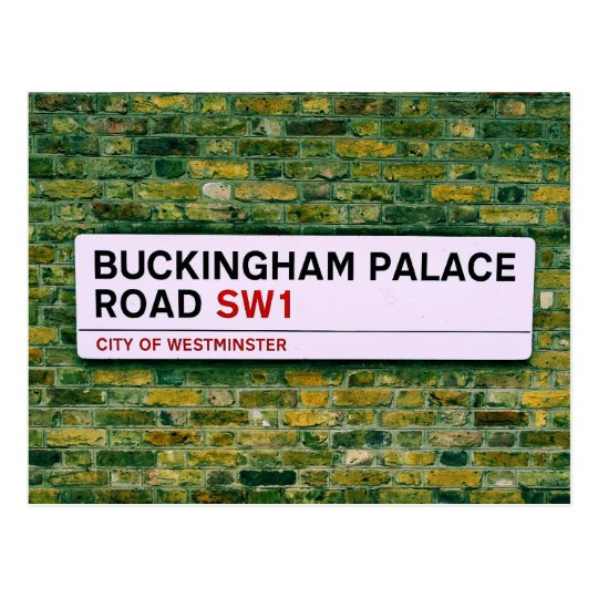 Buckingham Palace Road - London Postcard