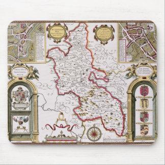 Buckinghamshire engraved by Jodocus Mousepad