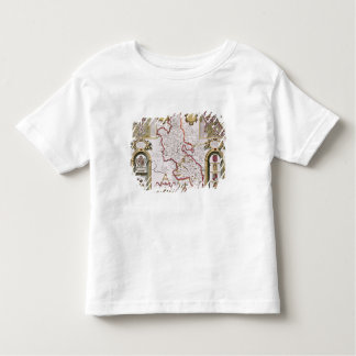 Buckinghamshire, engraved by Jodocus T Shirts