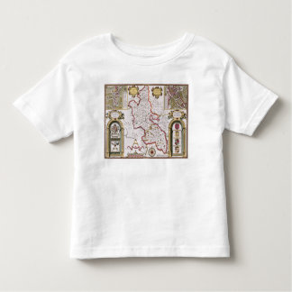 Buckinghamshire, engraved by Jodocus Toddler T-Shirt