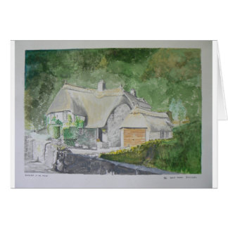 Buckland in the Moor Greeting Card