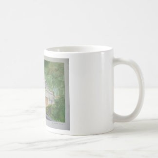 Buckland in the Moor Basic White Mug