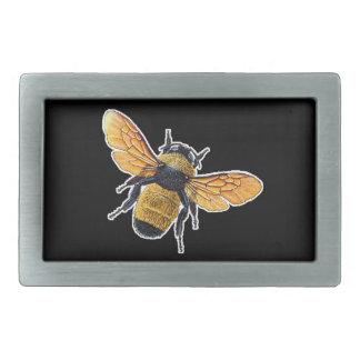 Buckle Bee Rectangular Belt Buckle