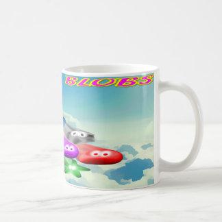 Buckle Blobs 1 Basic White Mug
