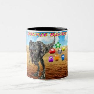Buckle Blobs 1 Two-Tone Mug