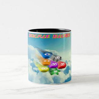 Buckle Blobs 2 Two-Tone Coffee Mug