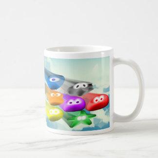 Buckle Blobs 4 Basic White Mug