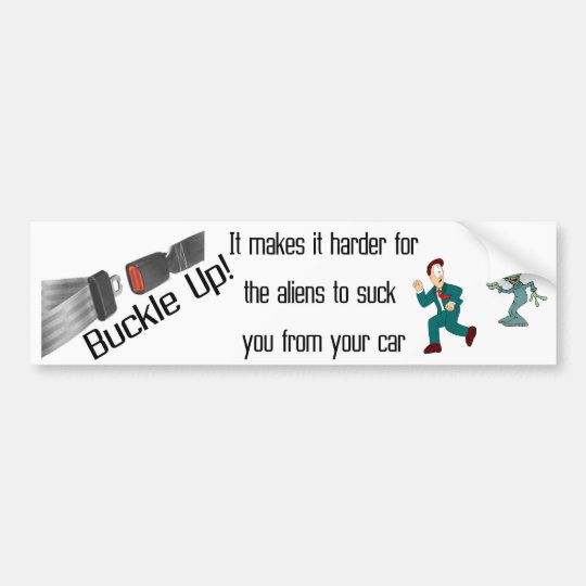 Buckle Up Bumper Sticker