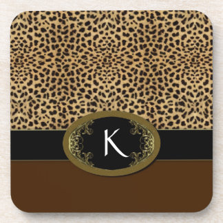 Buckle Up Leopard Coasters