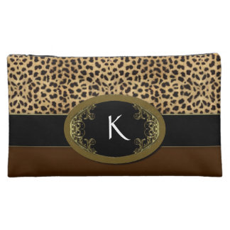 Buckle Up Leopard Makeup Bag