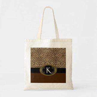 Buckle Up Leopard Tote Bag