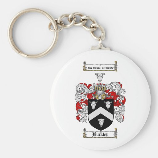 BUCKLEY FAMILY CREST -  BUCKLEY COAT OF ARMS KEY CHAIN