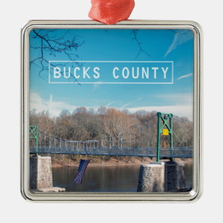 Bucks County. Christmas Ornament